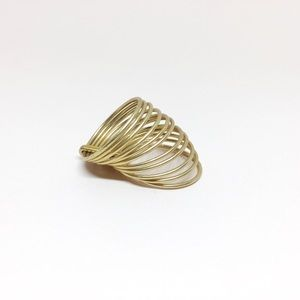 NWOT Madewell Gold Multilayer Ring
